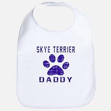 Skye Terrier Daddy Designs Bib