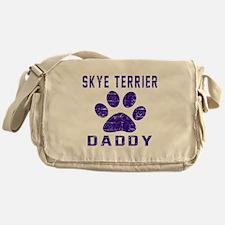 Skye Terrier Daddy Designs Messenger Bag