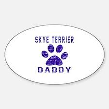 Skye Terrier Daddy Designs Decal