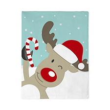 Reindeer Christmas Twin Duvet
