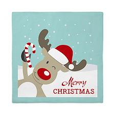 Reindeer Christmas Queen Duvet
