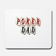 'Poker Dad' Mousepad