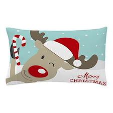 Reindeer Christmas Pillow Case