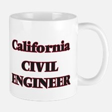 California Civil Engineer Mugs