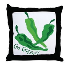 Cute Chili pepper Throw Pillow