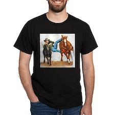 Bull Doggin, Steer Wrestling T-Shirt
