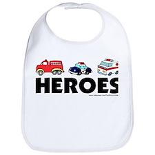 HEROES (EMT, fire, police) Bib