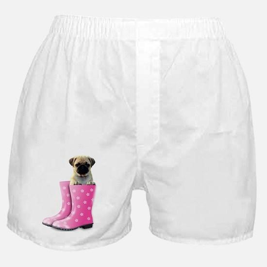 Unique Pets pugs Boxer Shorts