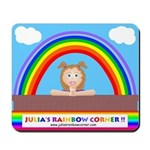 Julia's Rainbow Corner Mousepad
