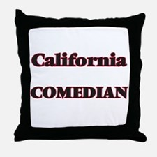 California Comedian Throw Pillow