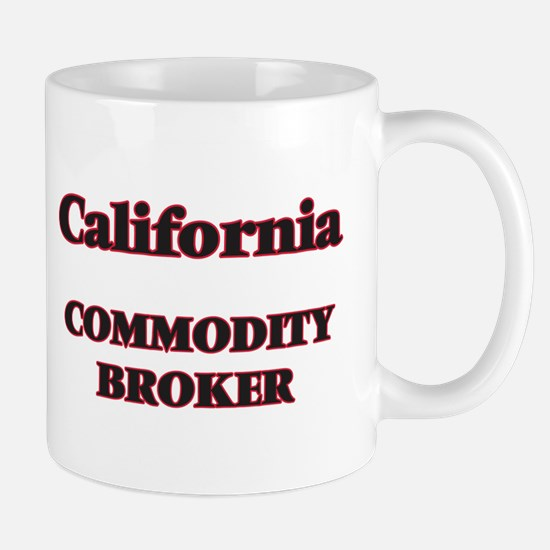 California Commodity Broker Mugs