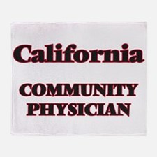 California Community Physician Throw Blanket