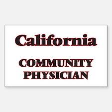 California Community Physician Decal