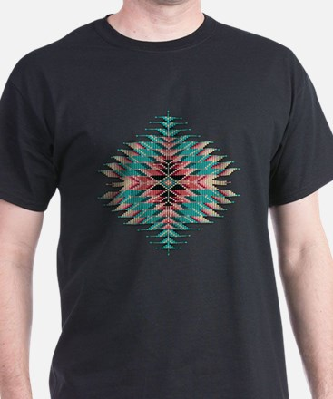 Southwest Native Style Sunburst T-Shirt