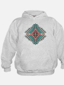 Southwest Native Style Sunburst Hoodie