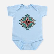 Southwest Native Style Sunburst Infant Bodysuit