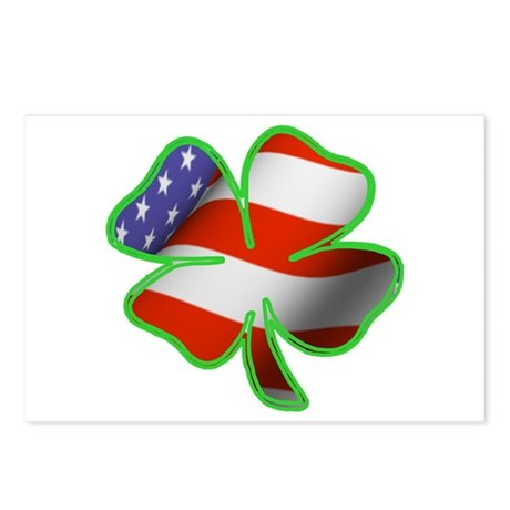 Irish American Postcards (Package of 8)
