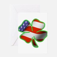 Irish American Greeting Card
