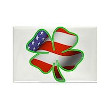Irish American Rectangle Magnet (10 pack)