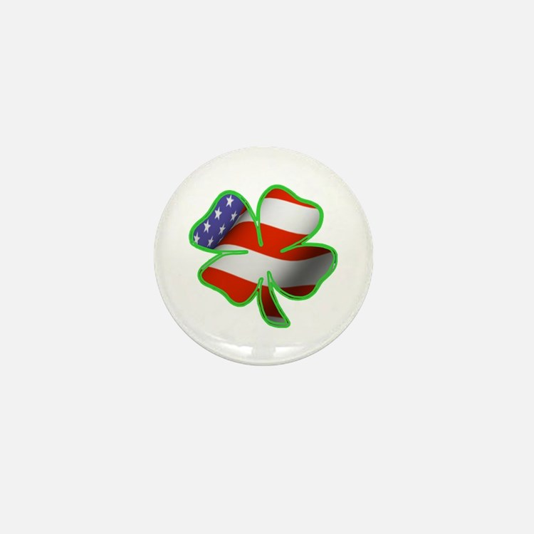 Irish American Mini Button