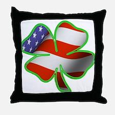 Irish American Throw Pillow