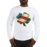 Irish american Long Sleeve T-shirts