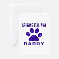 Spinone Italiano Daddy Designs Greeting Card