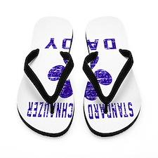 Standard Schnauzer Daddy Designs Flip Flops