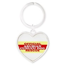 Unique Adopt dog Heart Keychain
