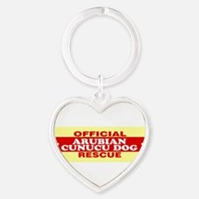 Unique Adopted dog Heart Keychain