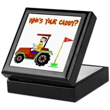 Who's Your Caddy?! Keepsake Box