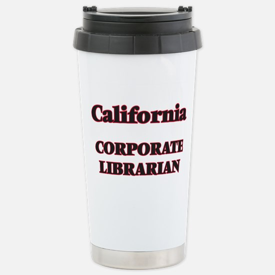 California Corporate Li Stainless Steel Travel Mug