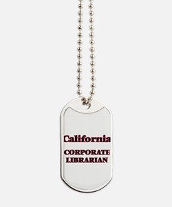 California Corporate Librarian Dog Tags