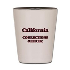 California Corrections Officer Shot Glass