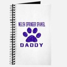 Welsh Springer Spaniel Daddy Designs Journal