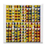 Enochian Tile Coasters