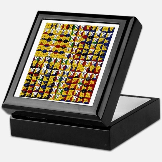 Unique Edward Keepsake Box