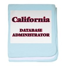 California Database Administrator baby blanket