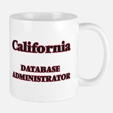 California Database Administrator Mugs