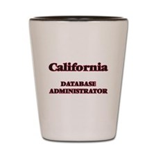 California Database Administrator Shot Glass