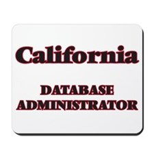 California Database Administrator Mousepad