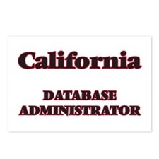 California Database Admin Postcards (Package of 8)