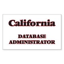 California Database Administrator Decal