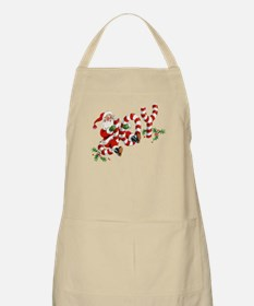 Vintage Joy and Santa Apron
