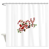 Santa Shower Curtains