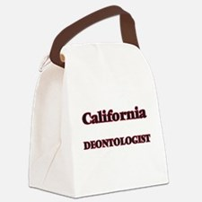 California Deontologist Canvas Lunch Bag
