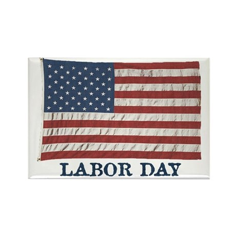 labor_day_flag Magnets
