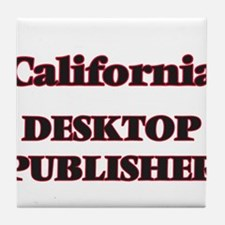 California Desktop Publisher Tile Coaster