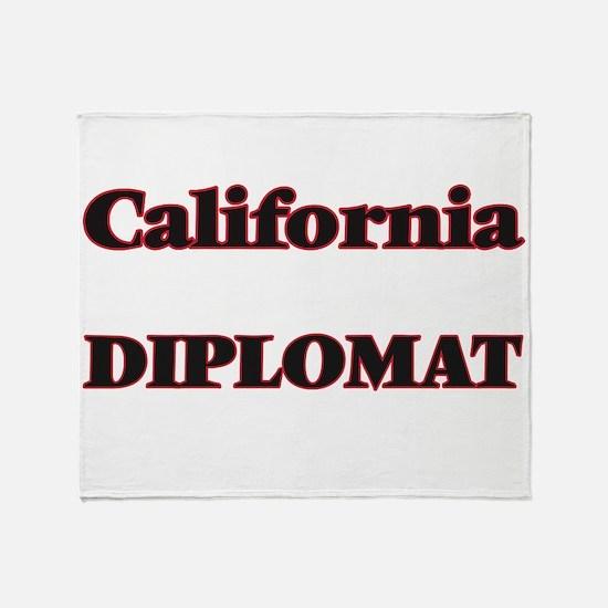 California Diplomat Throw Blanket