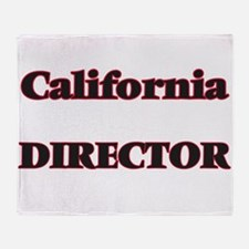 California Director Throw Blanket